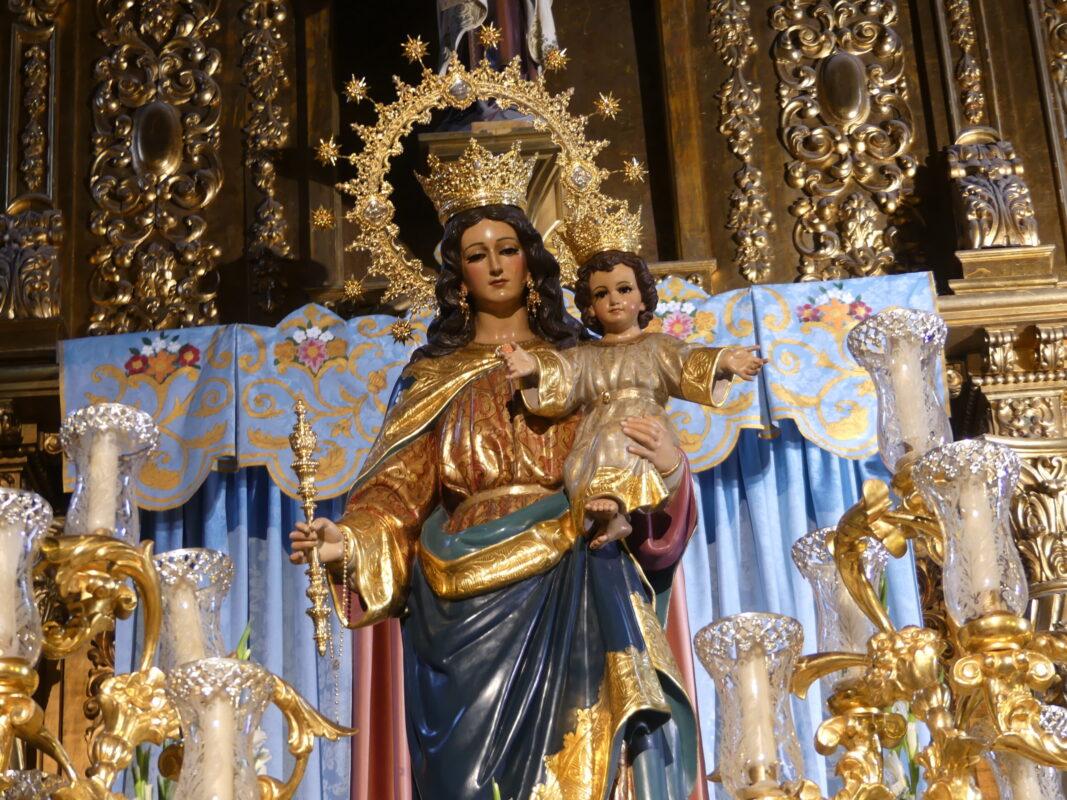 Misa de Hermandad en Maria Auxiliadora Coronada