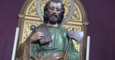 La Misa a San Judas Tadeo se adelanta de Hora